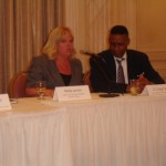 Molly Larson, Supplier Diversity Program Manager from Best Buy speaks on our panel with D. Craig Taylor from the U of M